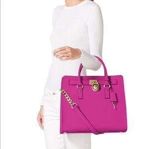 Michael Kors Hamilton Bag Fuchsia/Hot Pink💕